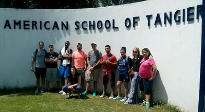 jjc students study abroad in morocco american school of tangier joliet junior college