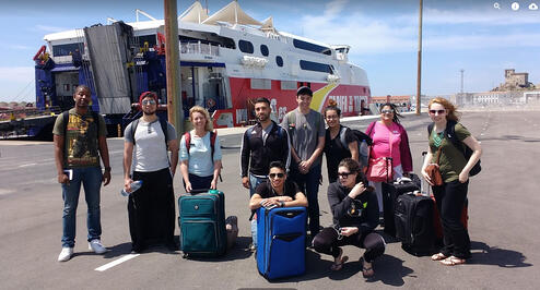 jjc students study abroad in morocco arriving in morocco joliet junior college