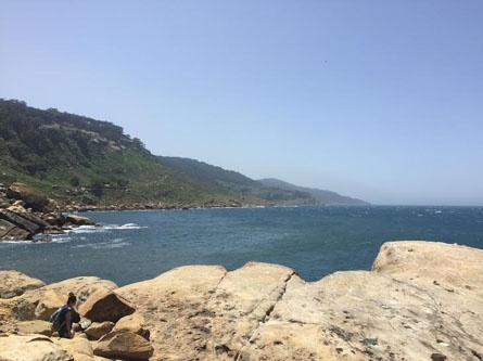 jjc students study abroad in morocco private beach american school of tangier