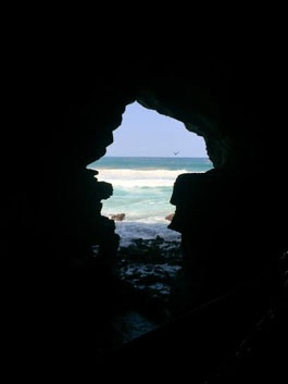 jjc students study abroad in morocco hercules caves tourist attraction