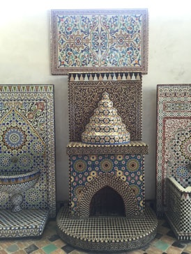 jjc students study abroad in morocco joliet junior college art naji