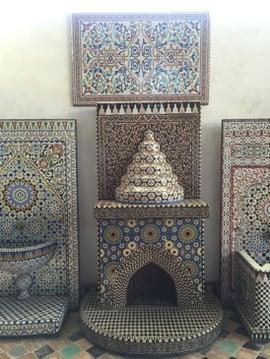jjc students study abroad in morocco joliet junior college art naji