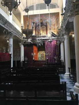 jjc students study abroad in morocco jewish synagogue tangier joliet junior college