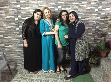 jjc students study abroad in morocco elizabeth mchugh host family tangier joliet junior college