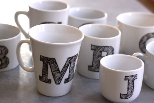 best gift ideas for students jjc joliet junior college diy personalized mugs sharpie permanent marker