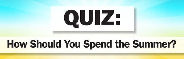quiz - how to spend summer