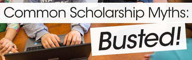 common scholarship myths busted jjc joliet junior college
