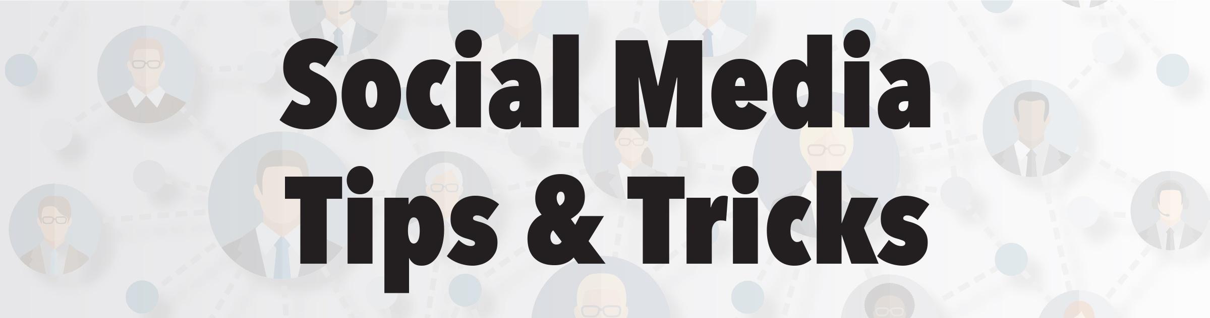social media tips and tricks jjc joliet junior college