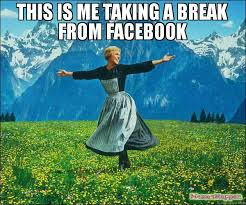 9 relaxing things to do during your winter break jjc joliet junior college sound of music this is me taking a break from facebook social media