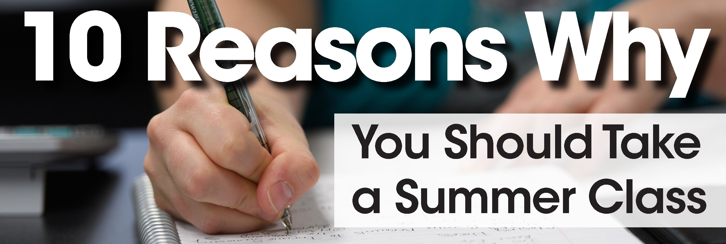 10 reasons why you should take a summer class jjc joliet junior college