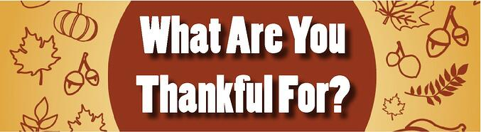 what are you thankful for banner jjc joliet junior college