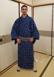 JJC student yukata Japan Matsuyama