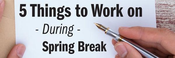 5 things to work on during spring break jjc joliet junior college