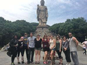 wuxi largest buddha statue Visiting China A Study Abroad Experience jjc Joliet Junior College