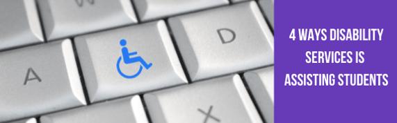 Disability Services blog - header