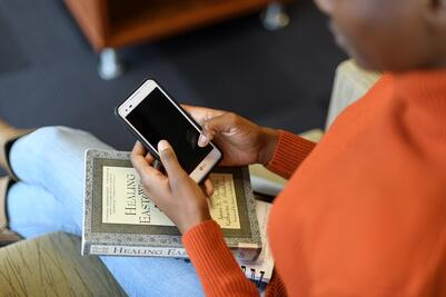 Library phone - blog