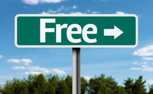 Free creative green sign