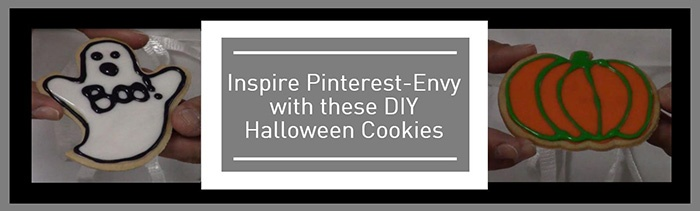 Inspire Pinterest-Envy with these DIY Halloween Cookies